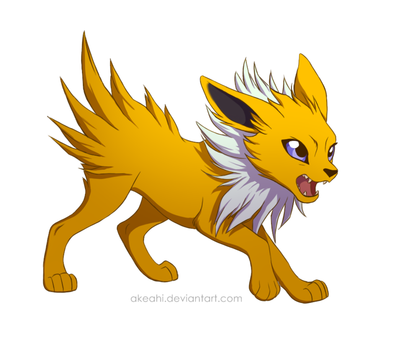 clip freeuse library By akeahi on deviantart. Jolteon transparent cute
