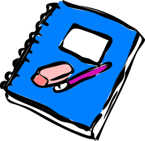 clipart royalty free Free math journal . Notebook clipart