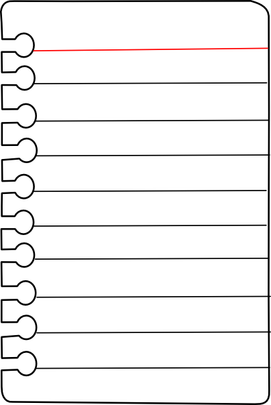 png black and white download Paper clip clipart black and white. Free journal pages to