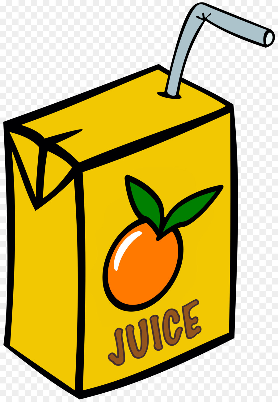 jpg transparent Juice clipart. Fruit drink yellow transparent.