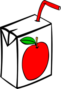 jpg library Juice clipart. Apple carton clip art