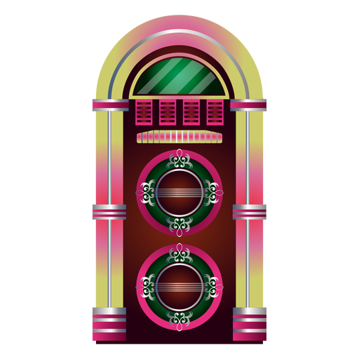 banner royalty free Music transparent png svg. Jukebox clipart