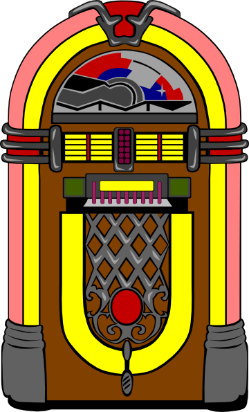 transparent download Jukebox clipart. Clip art at clker.