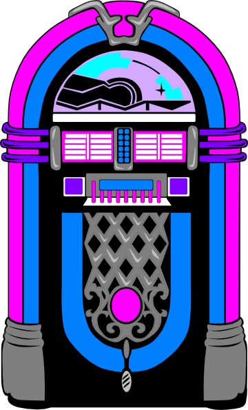 graphic free stock Jukebox Clip Art at Clker