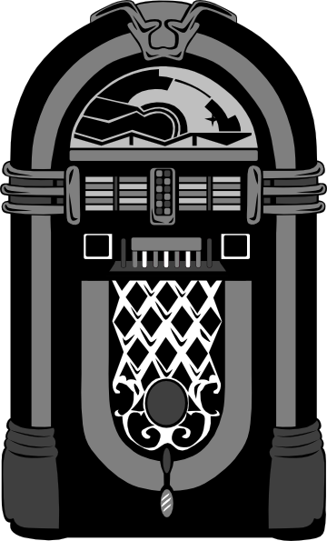 jpg free download Jukebox clipart black and white. Nubbs clip art at