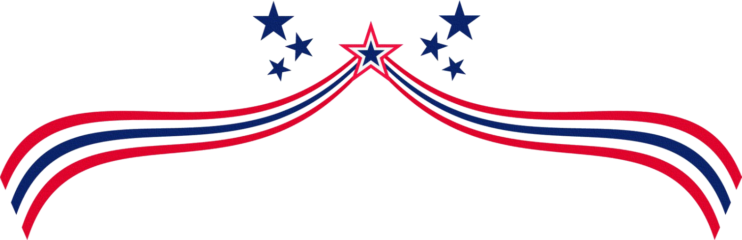 clipart free June clipart banners month. Usa transparent border