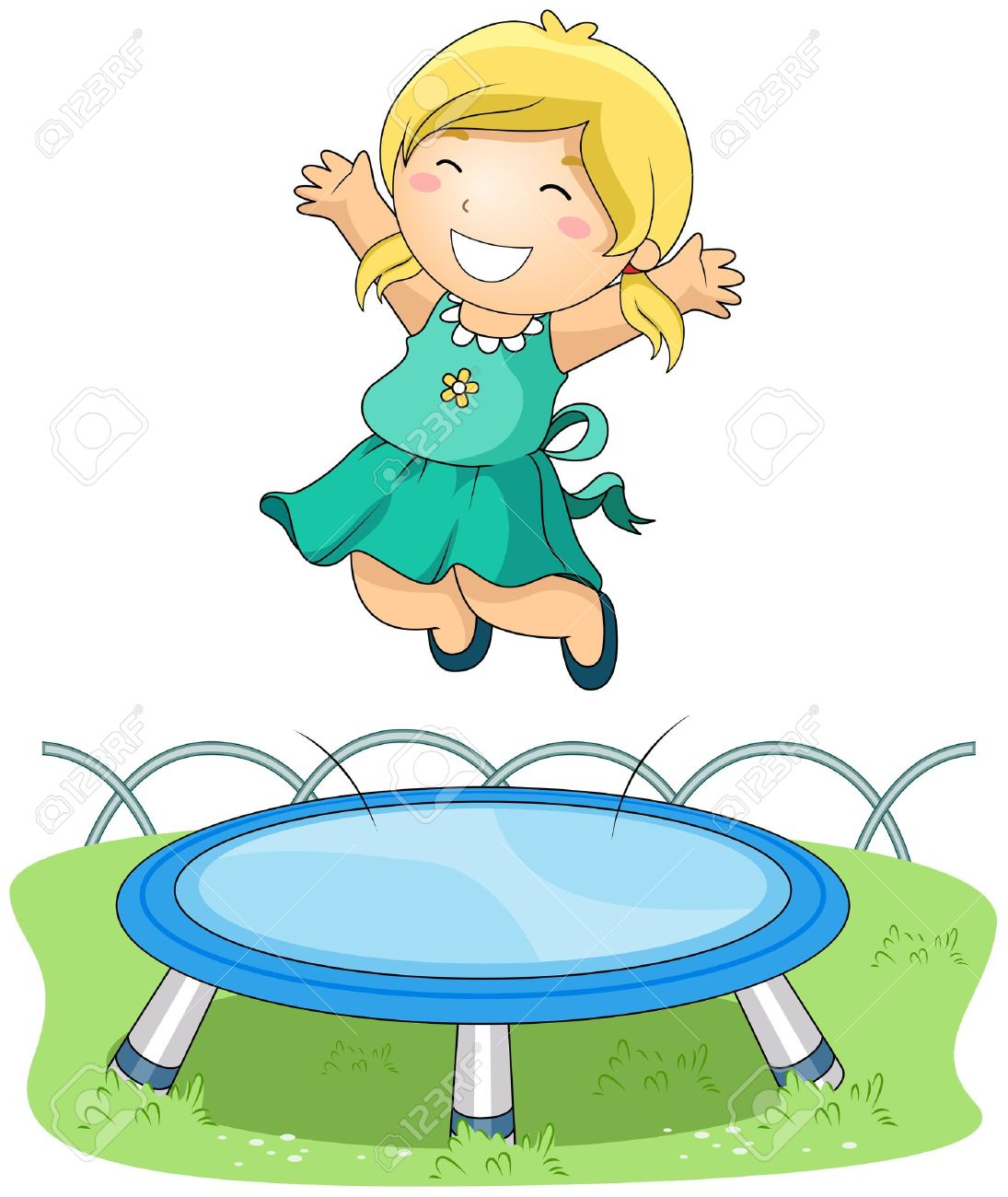 freeuse download Boy and girl jumping. Jump clipart