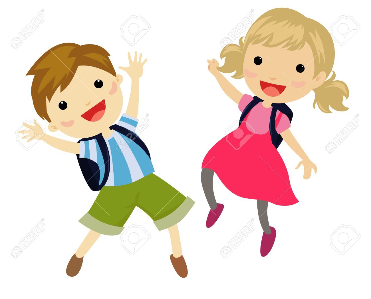 transparent stock Jumping clipart 1 kid. Kids portal .