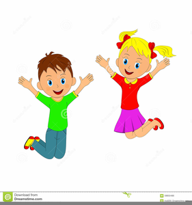 clipart transparent Jumping clipart. Children free images at.