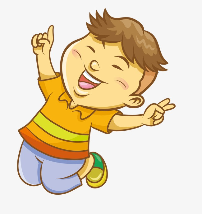 picture royalty free stock Jumping clipart feeling good.