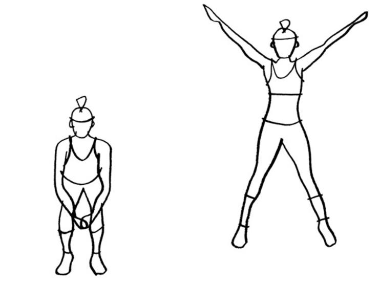 clipart free download Jumps . Jumping clipart star jump.