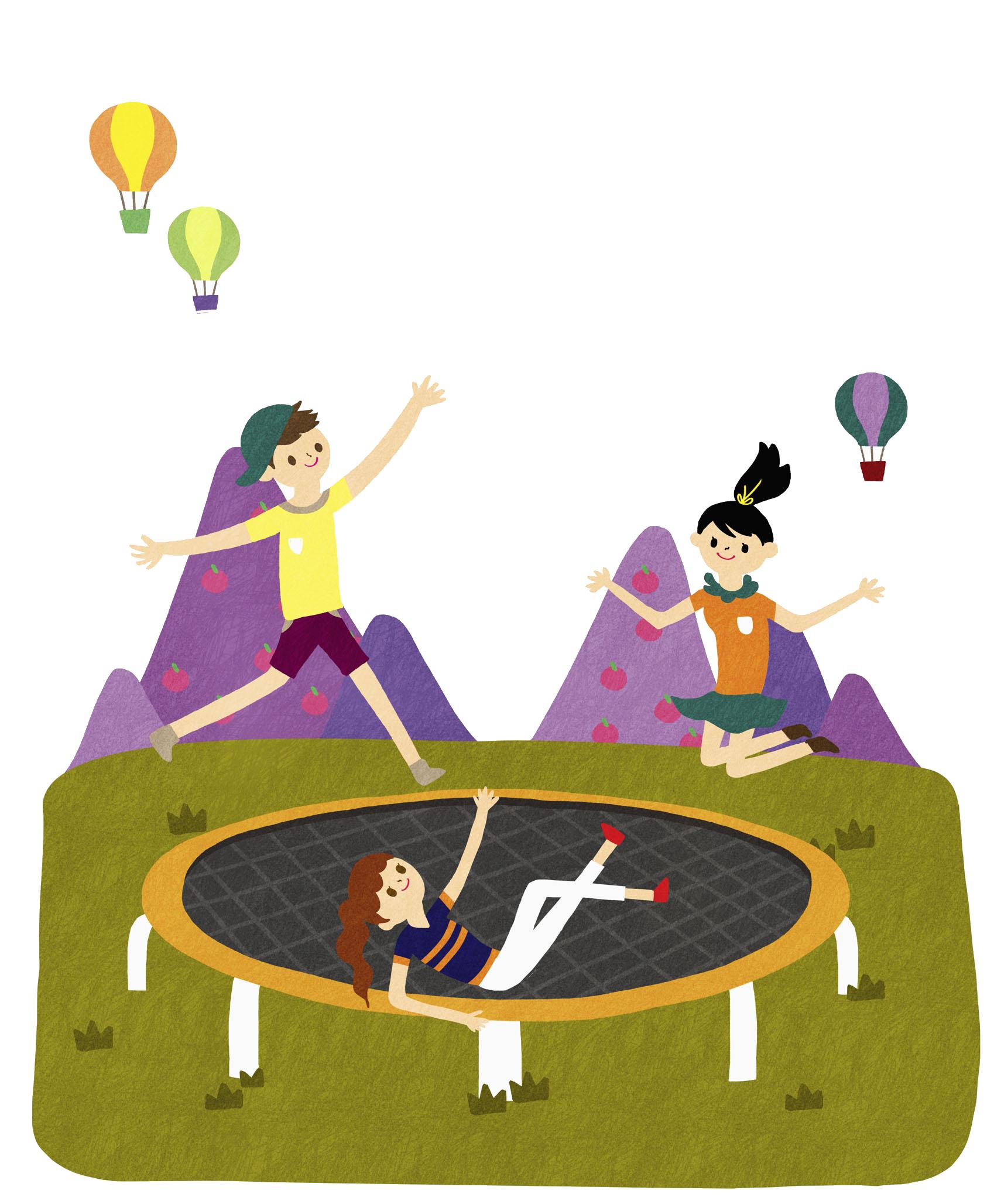 jpg transparent download Clip art boy transprent. Jumping clipart trampoline.