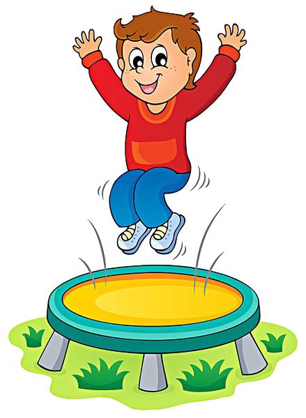 clip art transparent stock Royalty free clip art. Jumping clipart trampoline.