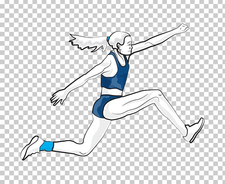 banner transparent download Athletics long running png. Jumping clipart triple jump.