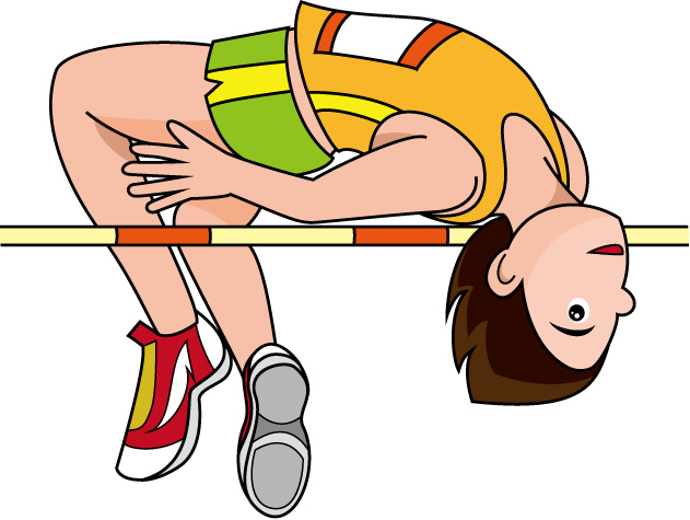 vector freeuse stock  collection of high. Jumping clipart triple jump.