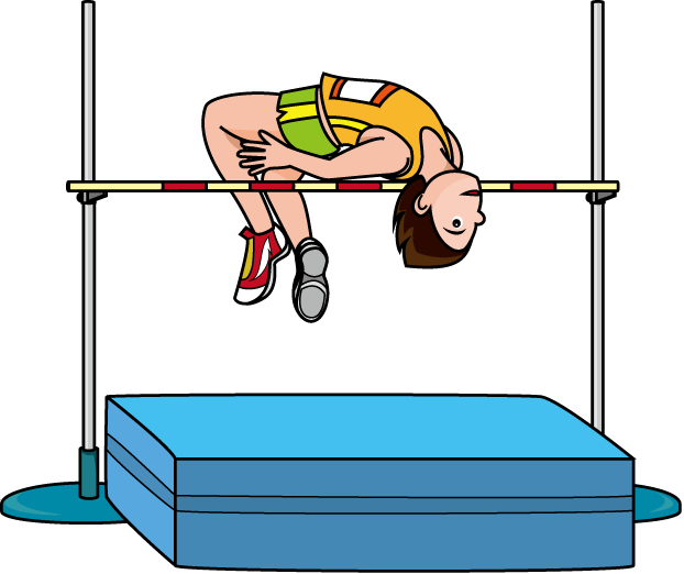 clip art free download  collection of high. Jumping clipart triple jump.