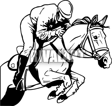 clip art library library Horse Jumping Clipart