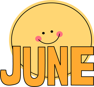 png transparent Free month clip art. June clipart