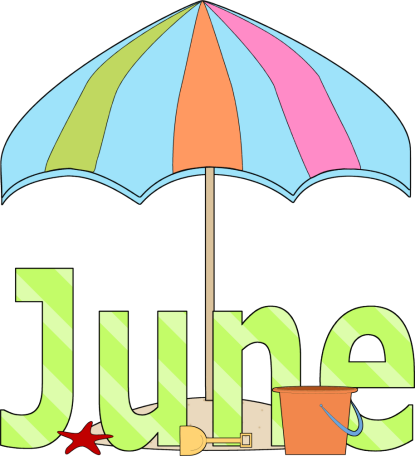 banner transparent download Month Of June Clipart