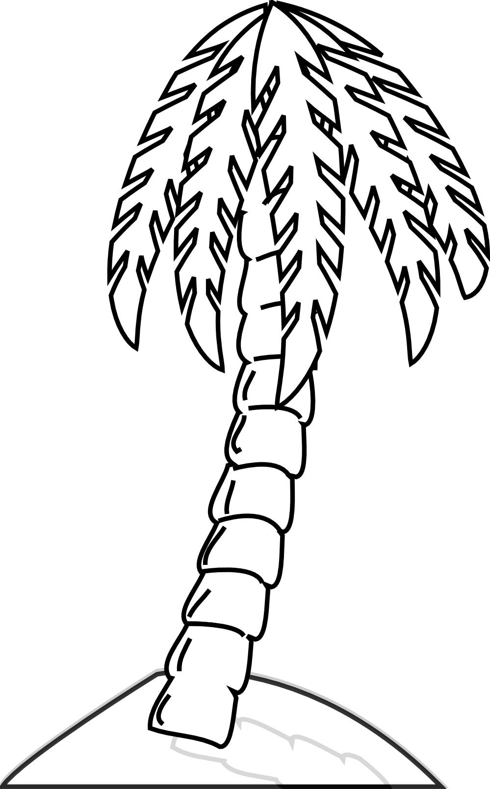 picture free download  collection of tree. Jungle clipart black and white