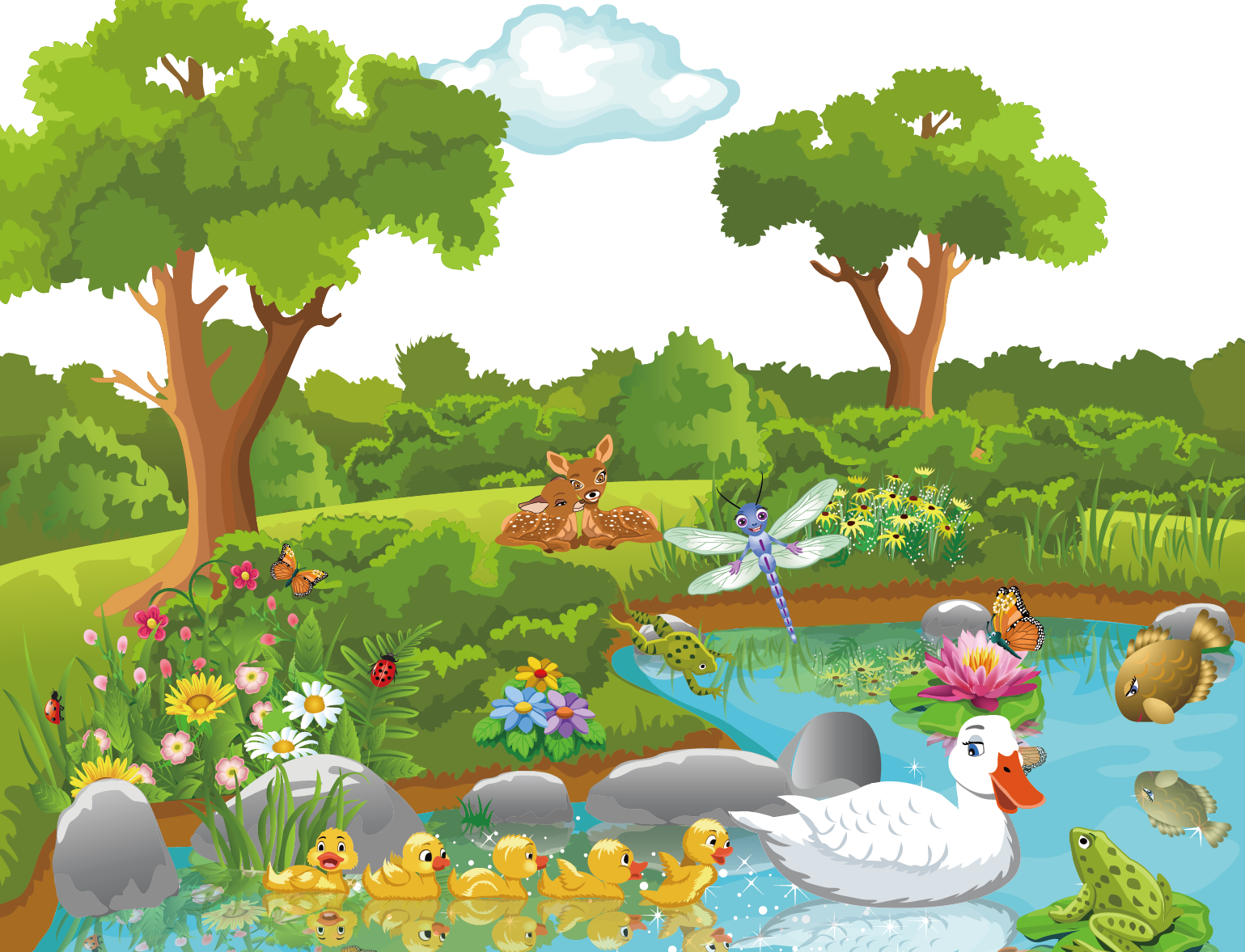 clip library stock Theatrical scenery Cartoon Nature Clip art