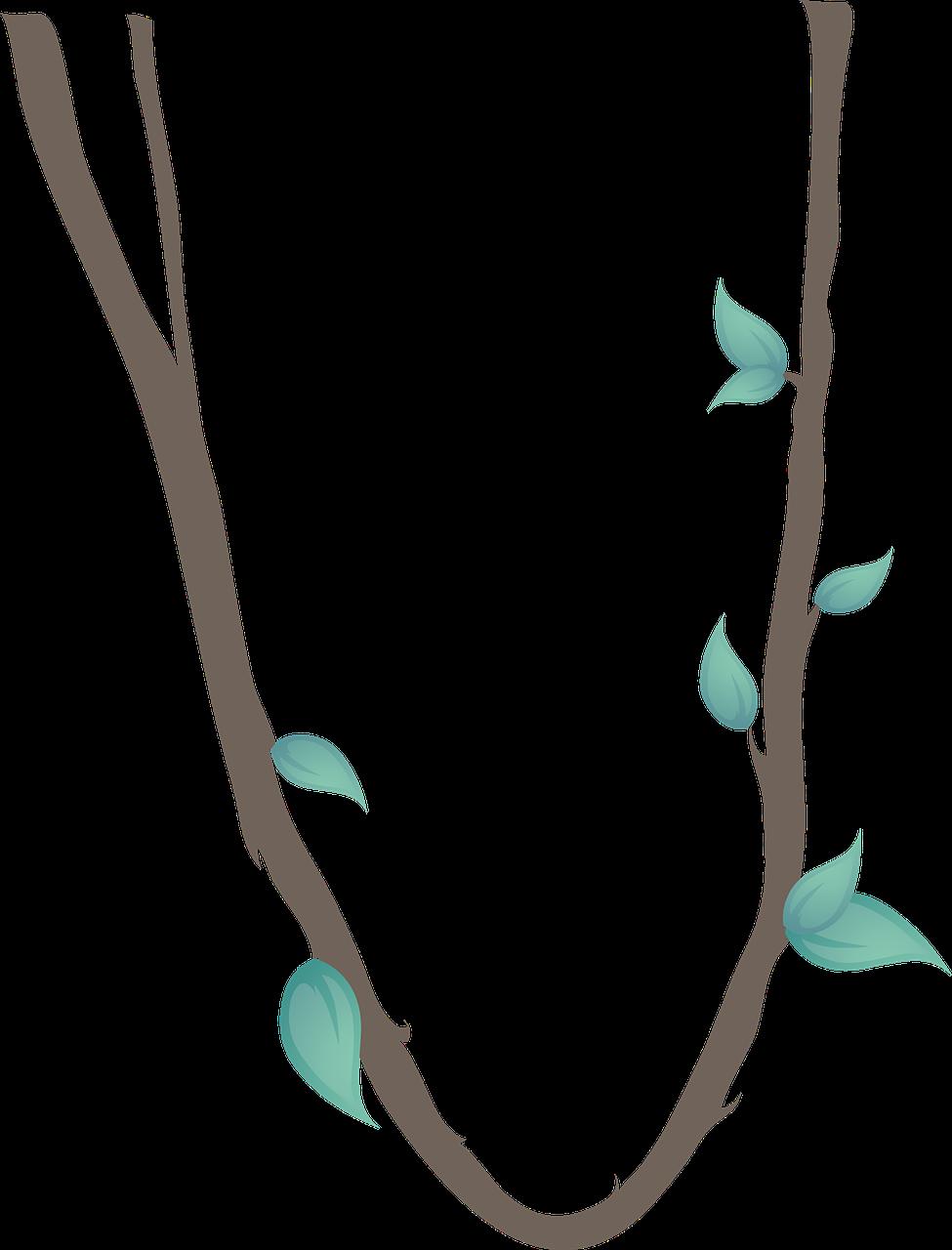 svg stock Free jungle clip art. Rope clipart vine.