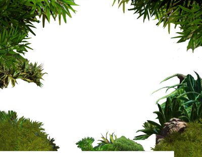 picture black and white library Jungle Clipart jungle background