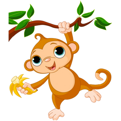 graphic library library Monkeys Cartoon Clip Art