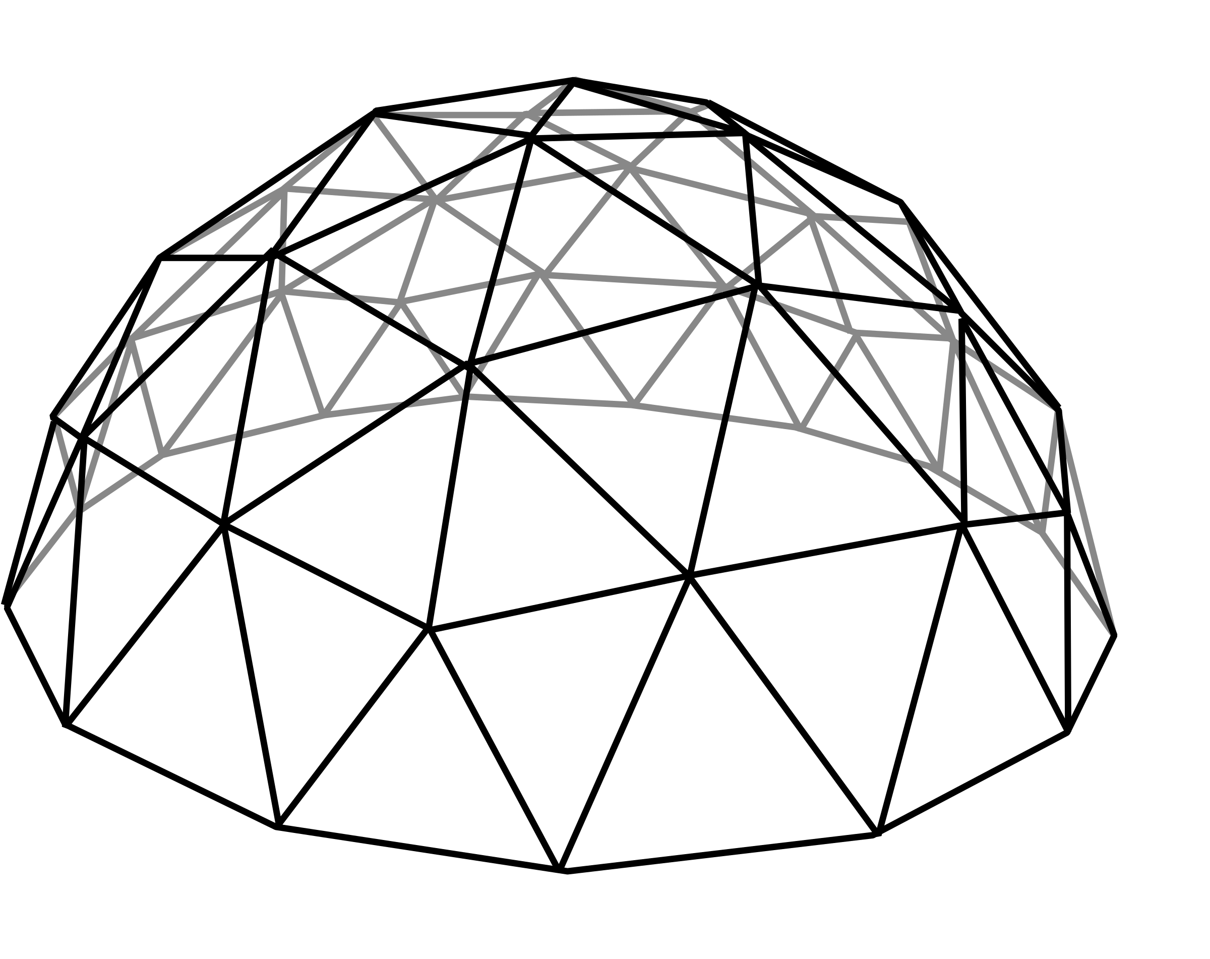 clip royalty free library Geodesic dome big image. Jungle gym clipart black and white