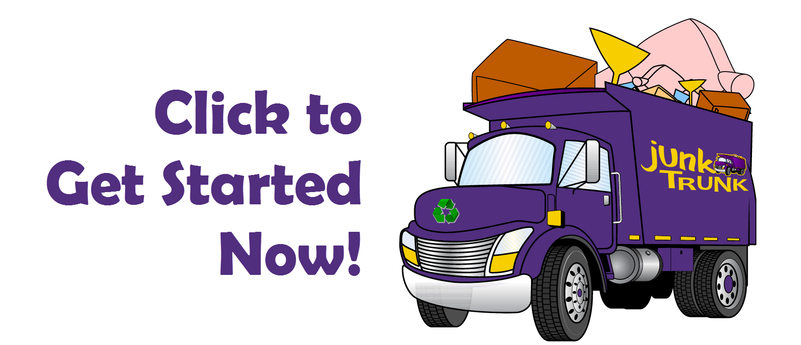 clipart freeuse library Junk clipart. Move truck free on.