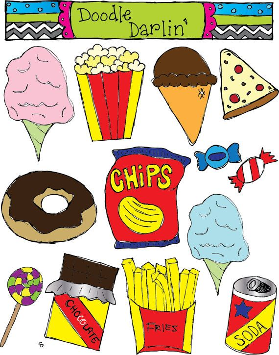 vector library stock Junk clipart unhealthy diet. Pin by justin tackett.