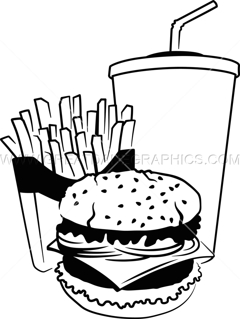 clip art library stock Fast Food Drawing at GetDrawings