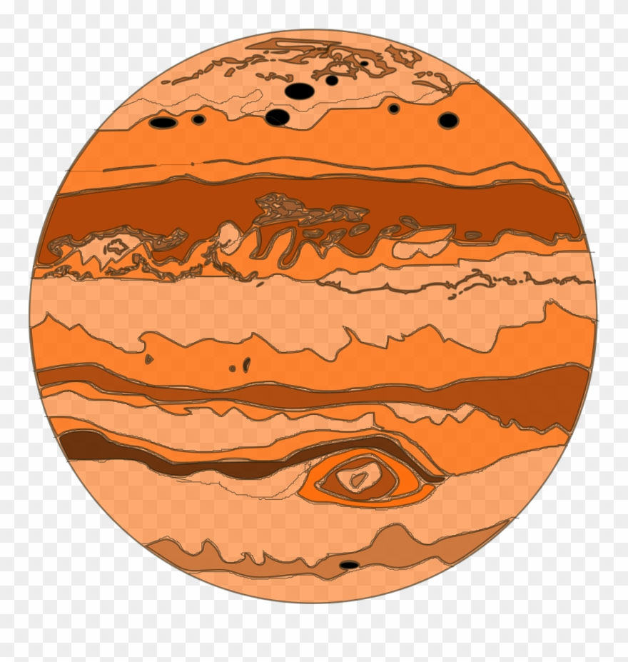 svg library Jupiter clipart. Png download pinclipart
