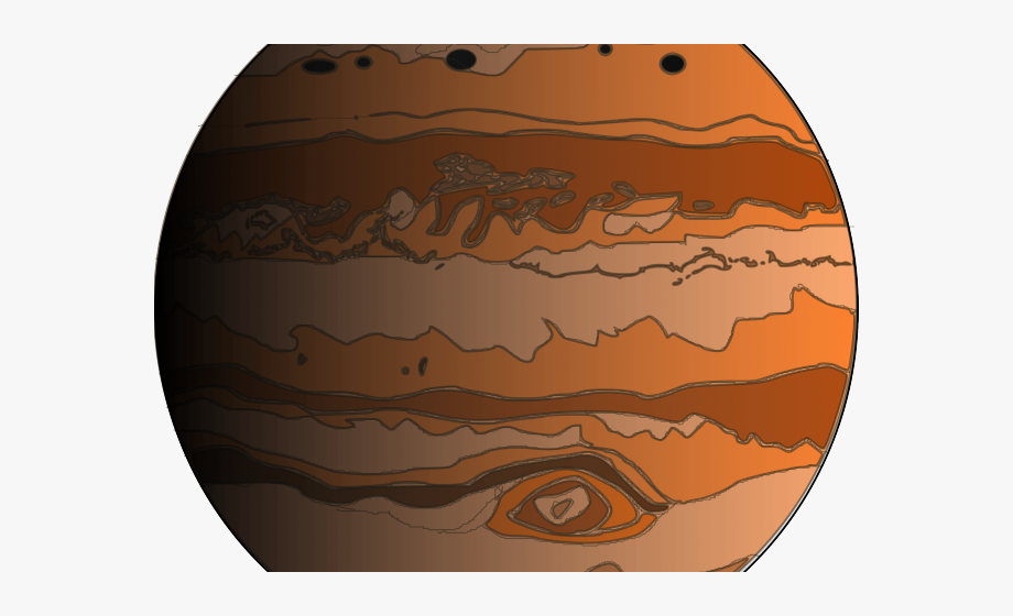 png transparent Drawn planets png free. Jupiter clipart.