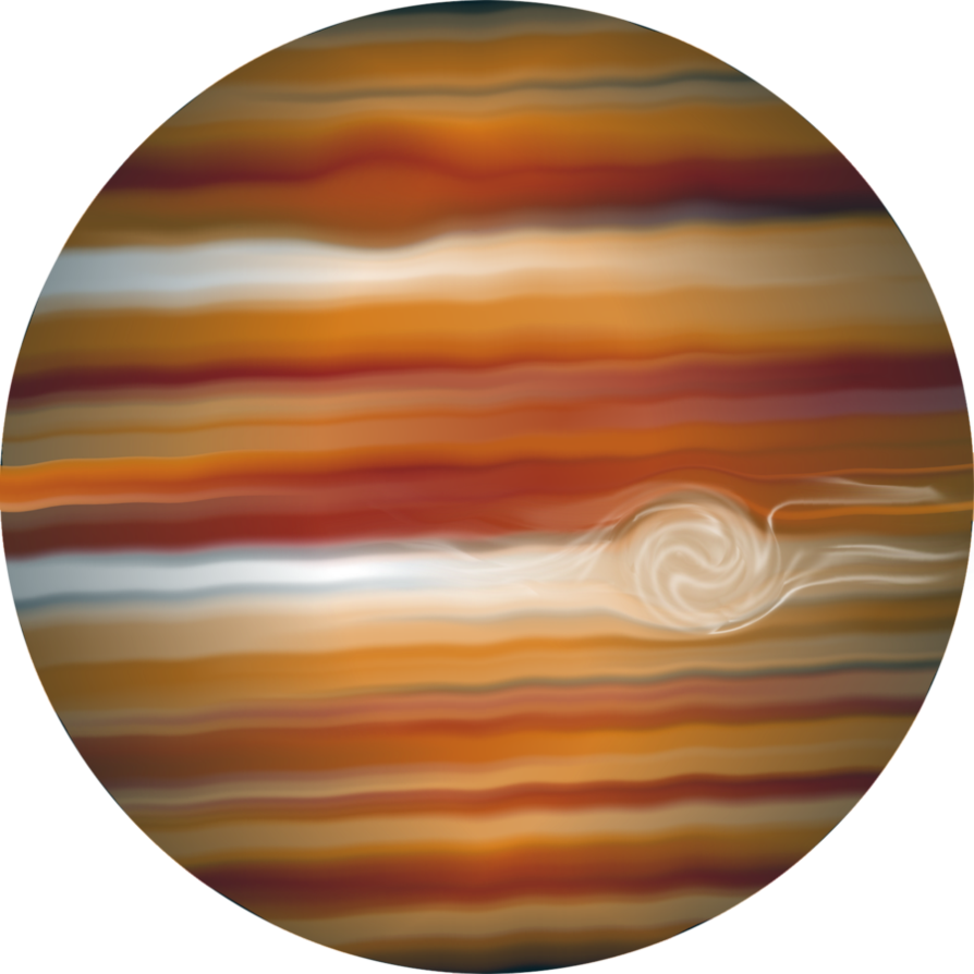 clipart freeuse library  by tigers stock. Jupiter clipart space planet
