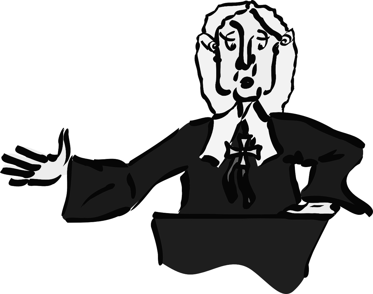 clip art library stock Judge clipart black and white. Your right to request