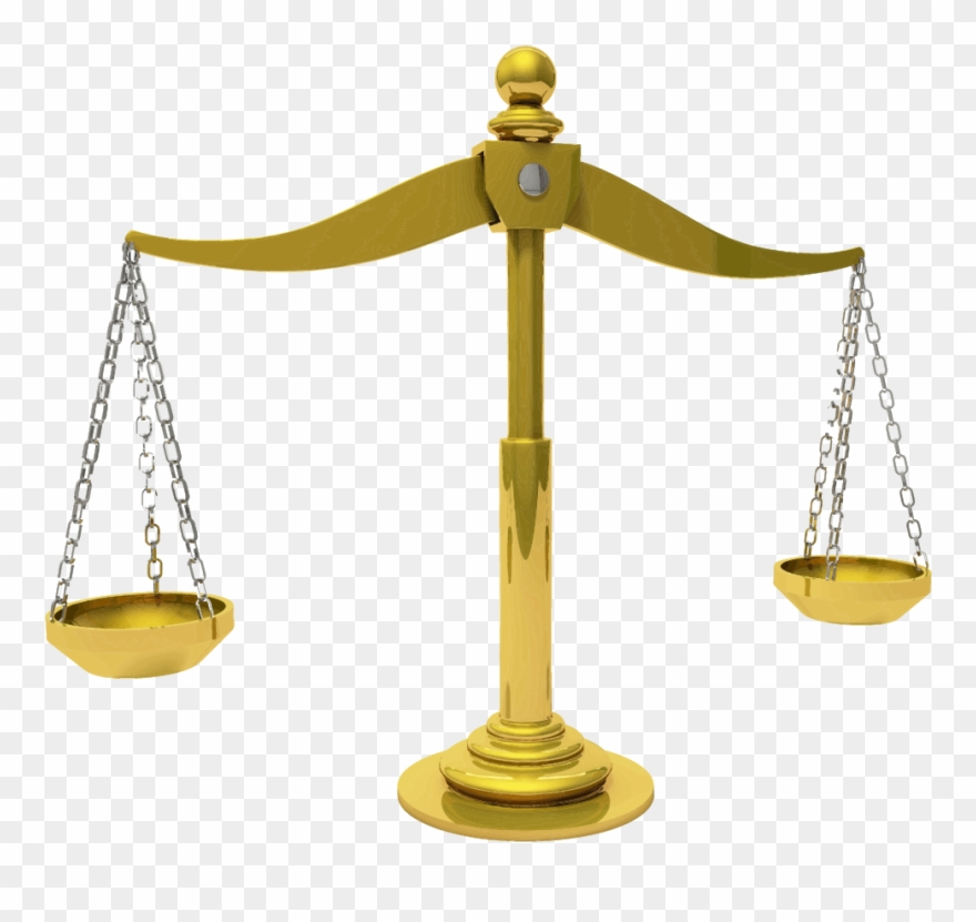 vector freeuse Justice clipart. Brass scales of pinclipart.