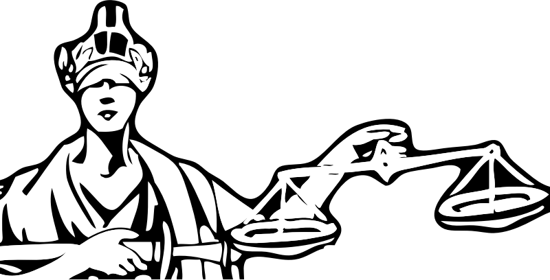 vector black and white library Lady of justice at. Blindfold drawing old