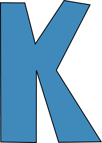 image royalty free library Letter K Clipart at GetDrawings