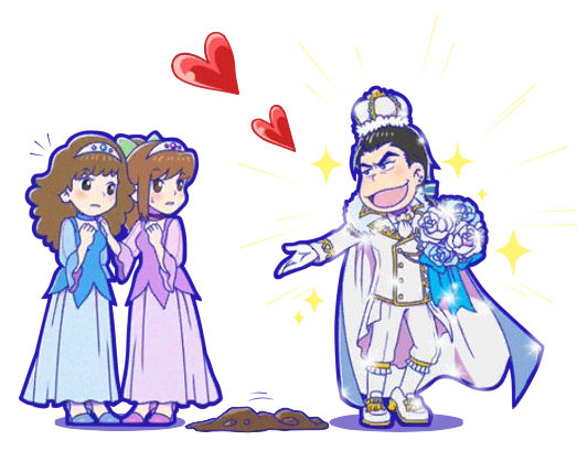 image royalty free Hesokuri wars . Karamatsu transparent princess prince osomatsu