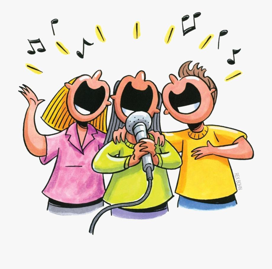 jpg library download Karaoke clipart. It is happening sing.
