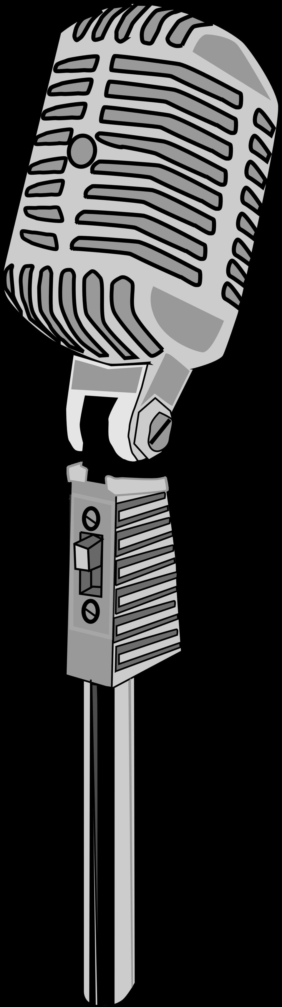 clipart stock Karaoke microphone clipart. Public domain clip art.