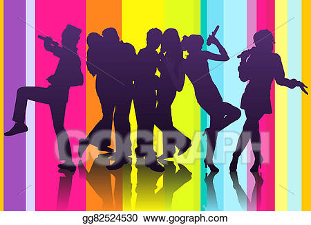 picture free download Stock illustration drawing . Karaoke party clipart