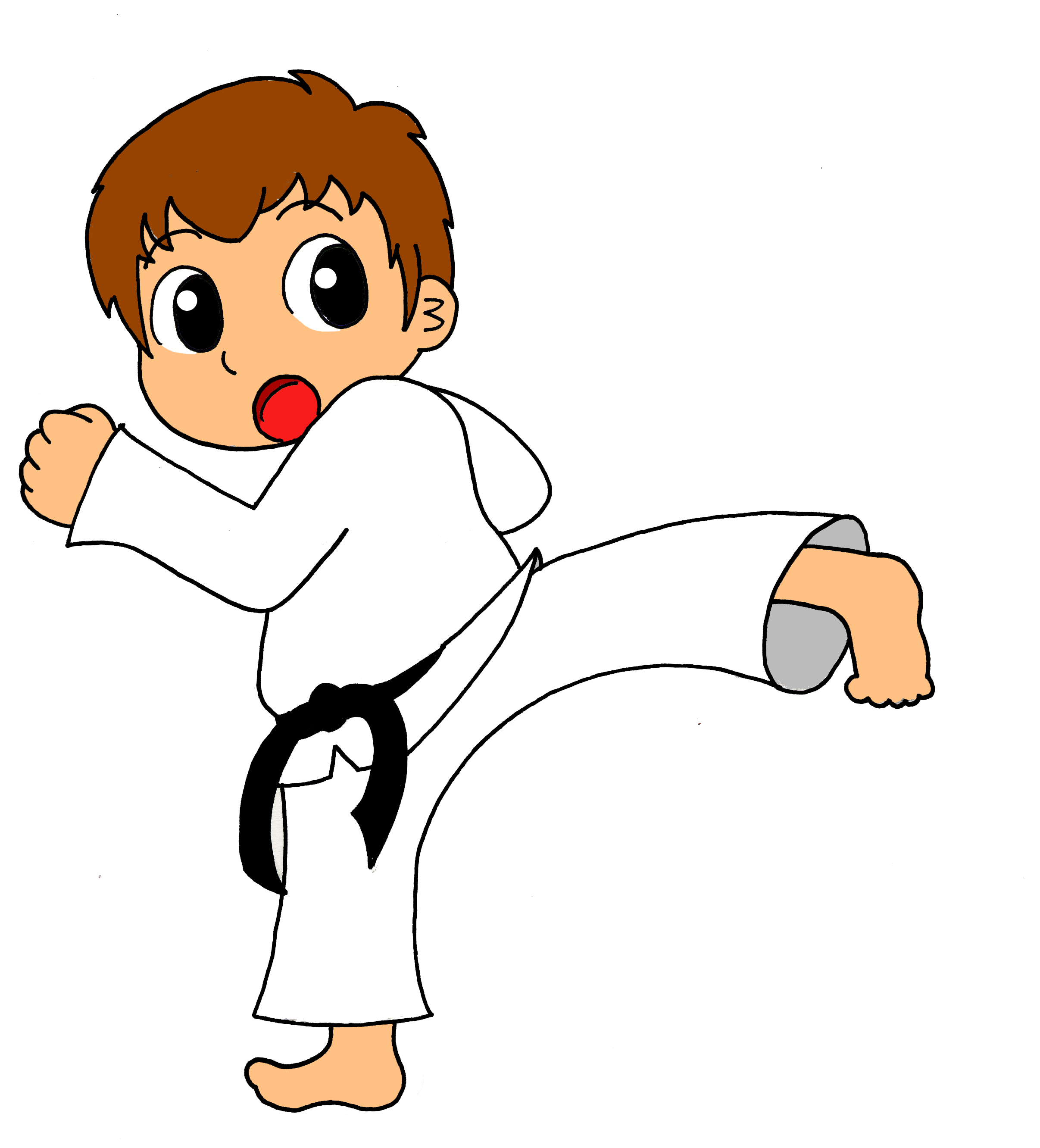 clip free Free cliparts download clip. Karate clipart.