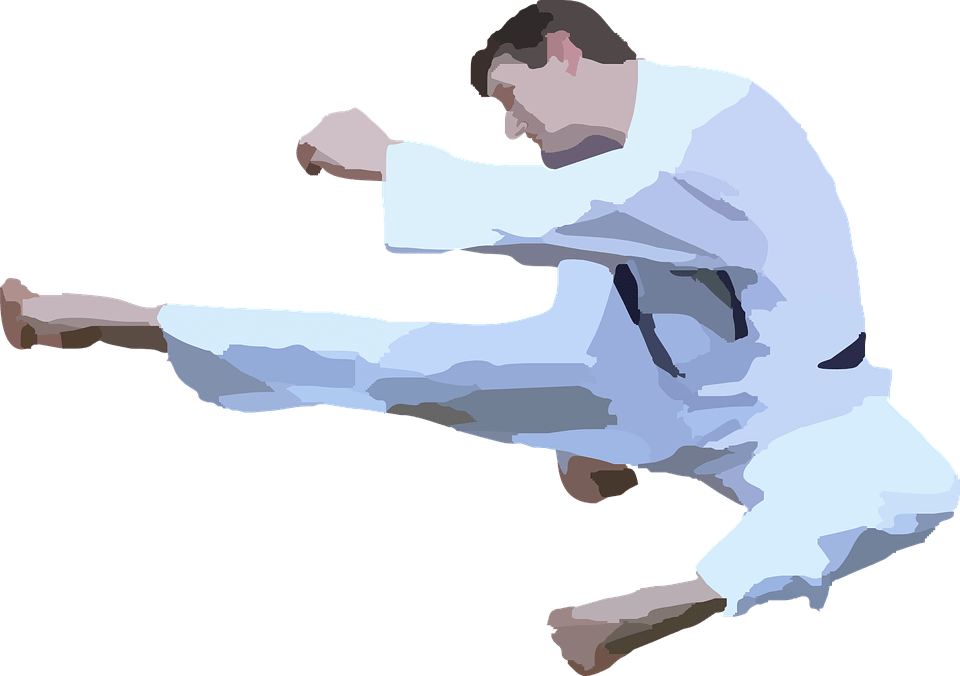 svg transparent Karate clipart. Silhouette transparent png stickpng.