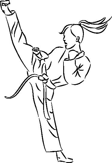 png At getdrawings com free. Karate drawing