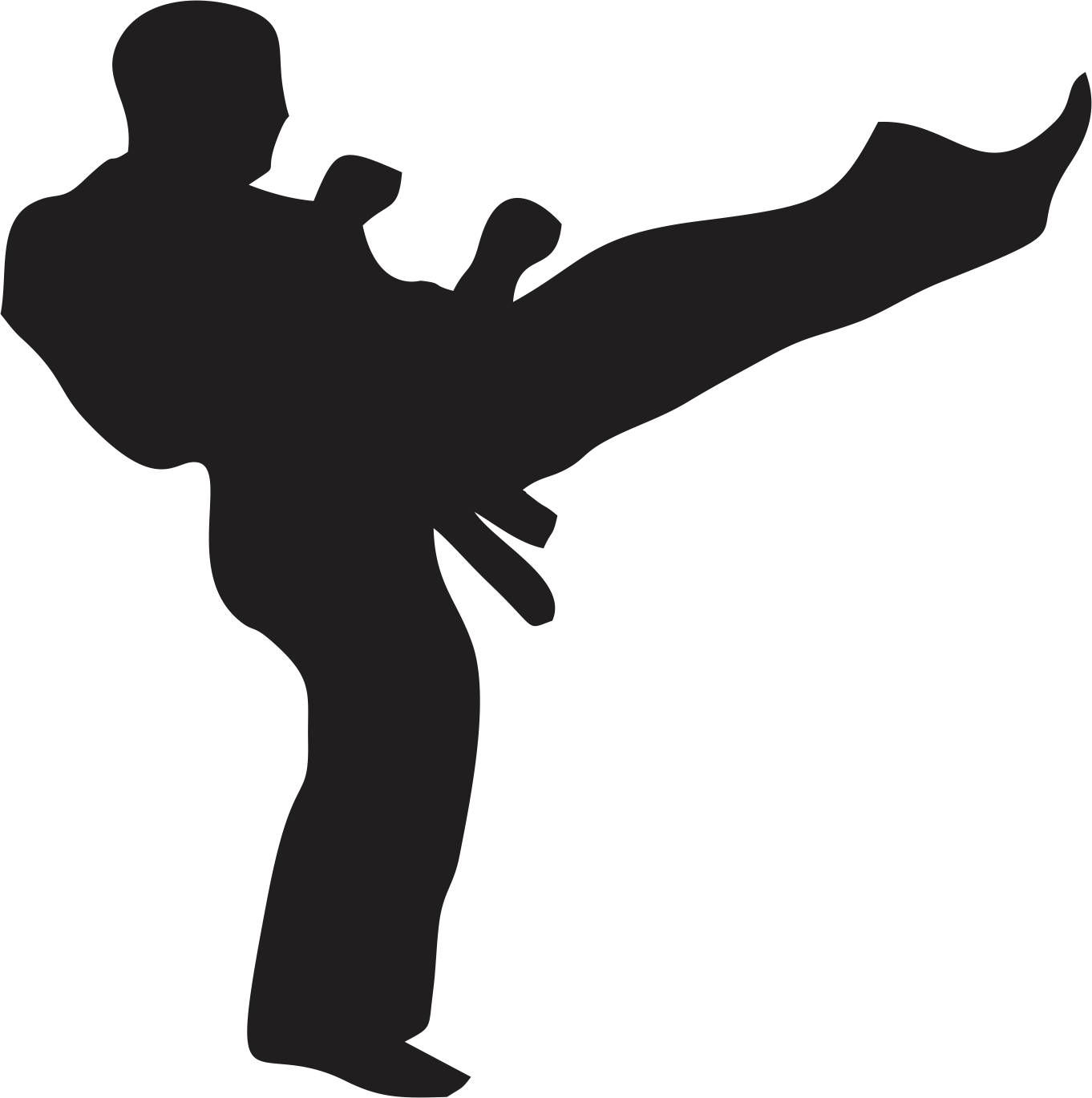 jpg freeuse download Karate clipart person. Man clip art free.