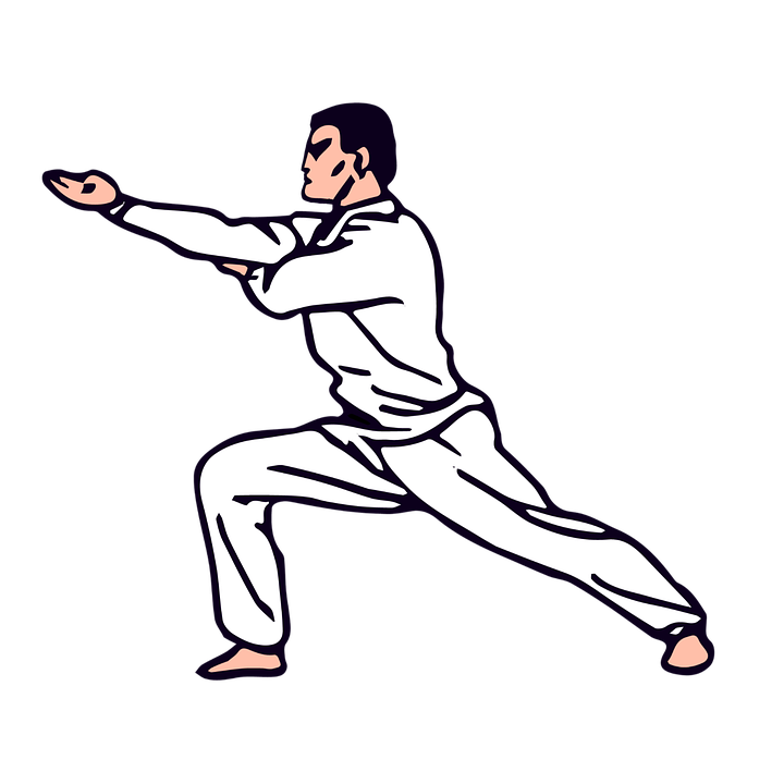 clip art royalty free library Shop of library buy. Karate clipart person.