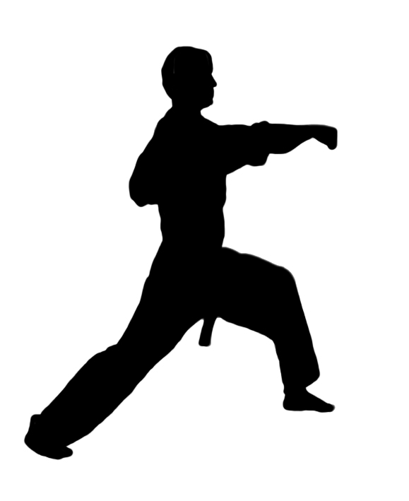 library Free cliparts download clip. Karate clipart person.