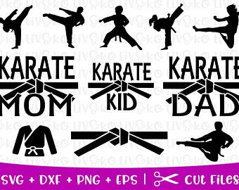 png transparent library Etsy . Karate clipart svg.
